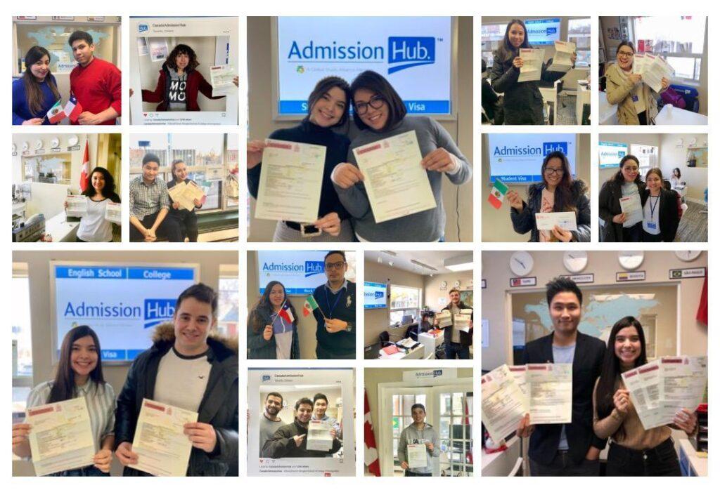 加拿大ADM-學生簽證合照