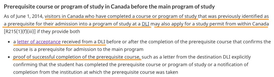 加拿大境內觀光簽(eTA)轉學生簽
