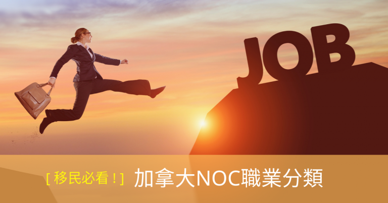 加拿大NOC職業分類